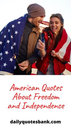 If you are looking for some American quotes about freedom? You have come to the right place. Here is the collection of famous American quotes about freedom and independence that will inspire you. These famous American quotes about freedom and independence are by great leaders, politicians, authors, to appreciate what built America unique, and what it means to be American in the modern world. Check out the following best quotes about American freedom. #americanquotes #americanquotesaboutfreedom Buddha Quotes Inspirational, Motivational Quotes For Women, Motivational Messages, Inspiring Quotes About Life, Spiritual Quotes, Bible Quotes, Famous American Quotes, Daily Quotes, Best Quotes