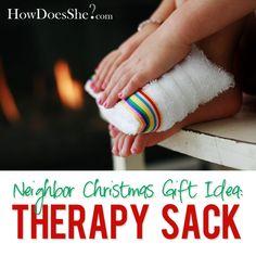 #9 Neighbor Christmas Gift Idea – Therapy Sacs | How Does She
