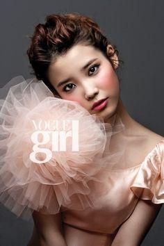 IU for Vogue Girl  (Source: Blog)