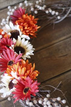 Re-Usable DIY Fall Wreath | The Blissful Bee