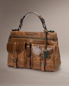 Josie Satchel - Bags & Accessories_Bags_Satchel - The Frye Company in cognac