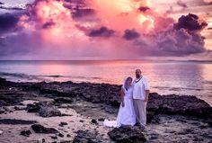 Rain clouds  Sunset = Epic Backdrop!!! Just thought of sharing this amazing scene I did with a beach wedding here in the island. #rmi #marshallislands #kwajaleinatoll #ebeye #canon #sunset #sunsetwedding #beachwedding