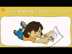 English Corner Time: Pattern Practice - Hobbies - I like ~ / I love ~ by ELF Learning http://englishcornertime.blogspot.com