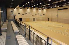 Kampushalli, Kokkola, Kanttia2 Oy Basketball Court