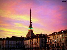 tramonto a Torino......