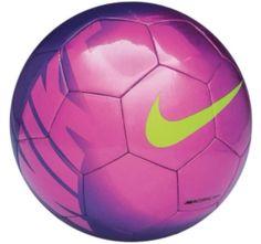 Nike Mercurial Mach Soccer Ball (Fireberry/Pink/Green) love these colors! Nike Soccer Ball, Girls Soccer Cleats, Soccer Gear, Soccer Fans, Play Soccer, Nike Football, Football Cleats, Football Fans, Soccer Stuff