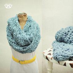 crochet cowl, neckwarmer, handmade by diEnes