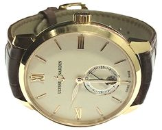 Ulysse Nardin San Marco Classico Automatic Rose Gold Mens Watch