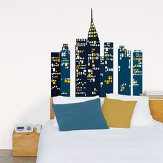 New York Wall Stickers Posters at AllPosters.com