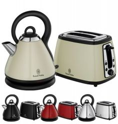 Russell Hobbs Heritage Toasters and Kettles