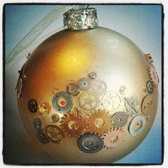 The Last Krystallos: Steampunk Christmas Tree Bauble