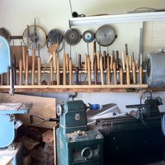 Every man's woodturning dream shop.