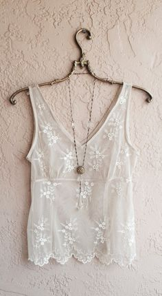 Sheer romantic embroidered hippie gypsy bohemian