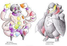 Boogeyman Pokemon 355-Horrobogy (Horror-Boogeyman) -Ghost/Dark -Ghoul Pokemon 356-Mostrogart (Monster-Boggart) -Ghost/Dark -Spooky Pokemon 477-Bogemonstr (Boogeyman-Monster) -Ghost/Dark -Nightmare ...