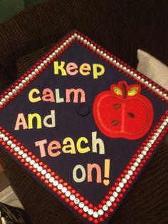 graduation cap decoration ideas teacher [Guess who's gonna do this on ...