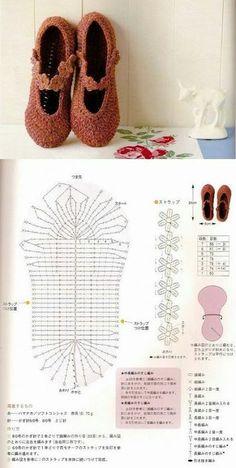 crochet tuto slippers (10)