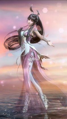 Fantasy Art Men, Anime Art Fantasy, Beautiful Fantasy Art, Beautiful Anime Girl, Anime Girl Cute, Fantasy Girl, Anime Art Girl, Anime Soul, Anime W