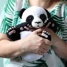 Lulu The Panda Amigurumi Pattern