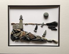 Sailing the Bay Pebble Art