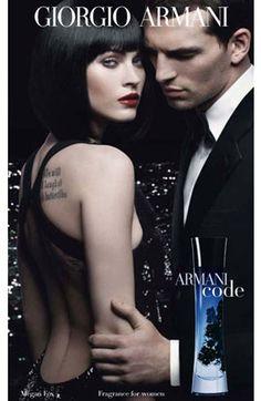 new favorite androgynous scent: Giorgio Armani Code