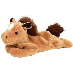 Hee hee this was one of our first Beanie Babies.  Ty Beanie Babies - Derby the Horse - Retired