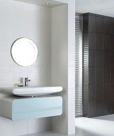 Wet Hemp White Wall Tile (25x40cm)