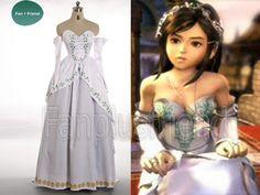 Princess Garnet from Final Fantasy IX Wedding Gown (Fanplusfriend)