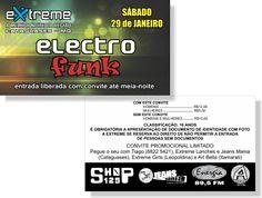 Electro Funk - Extreme (Convite)