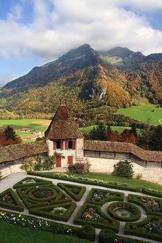 Chateau de Gruyeres Switzerland-  Via   @}-'-;---  ~LadyLuxury~