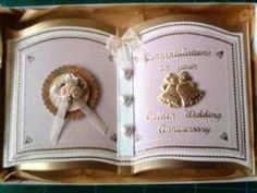 Bookatrix Wedding Anniversary Card by So Special Cards