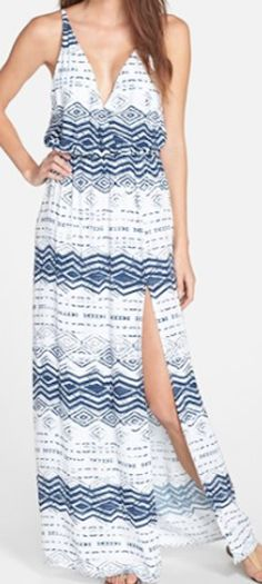 277c684e6ae Great summer maxi dress - love the pattern and the cut