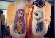 nightmare before christas tattoo