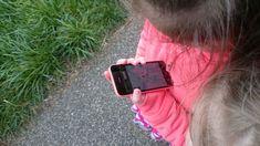 Met de geocaching-app op zoek de eerste schat.