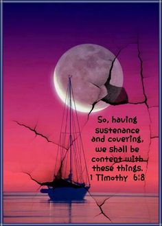 1 Timothy 6:8