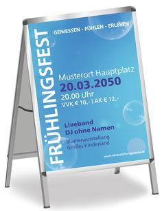 Plakatgestaltung für Ihre Veranstaltung jetzt online auf www.onlineprintXXL.com #plakat #gestaltung #onlinedruck #onlineprint #veranstaltung #plakatgestaltung