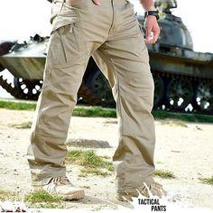 Slim Fit Urban Tactical Military Combat Pants