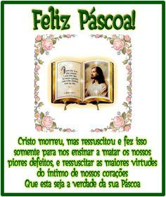 Mensagens - Mensagens de Feliz Pascoa