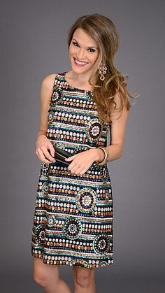 Sequin Design Dress :: NEW ARRIVALS :: The Blue Door Boutique
