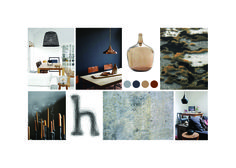 moodboard ethnic calm made by noubia