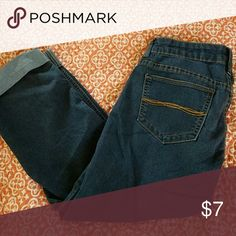 Capris Great used condition. Nice pair of capris. Size 3. Really comfortable Indigo Rein Jeans Ankle & Cropped