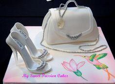 Cakes With Shoes And Handbags cakepins.com