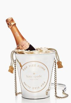 Pop. Fizz. Clink. - Champagne Bucket by kate spade new york