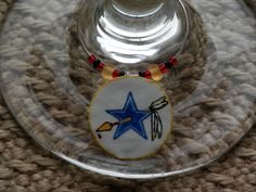 Football wine charms. Find them on Della Casa Collection via Facebook.
