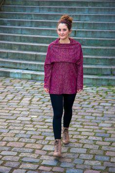 Twister Pullover aus einem Stück