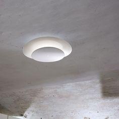 Plana Flush Ceiling Light   ml - Muranoluce at Lightology