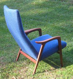 Vintage Rare Yngve Ekstrom Mingo Side Lounge by atomicancient, $1200.00