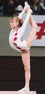 Tatiana Groshkova, Russia, Gymnastics--Balance beam