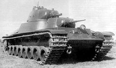 "T-100 - Soviet prototype of heavy tank from 1939. Construction based on ""multi-turret"" idea like earlier T-35 or SMK project. Only 1 (other sources told about 2) prototype built and used in combat in Finland, 1940."