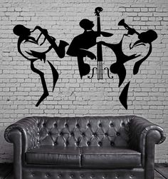 Music Vinyl Decal Classical Orchestra Cello Instruments Wall Stickers (ig2319)
