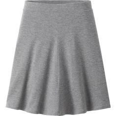 UNIQLO Flare Skirt ($7.66) ❤ liked on Polyvore